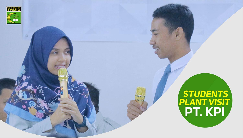Students Plant Visit 2019 PT. KPI