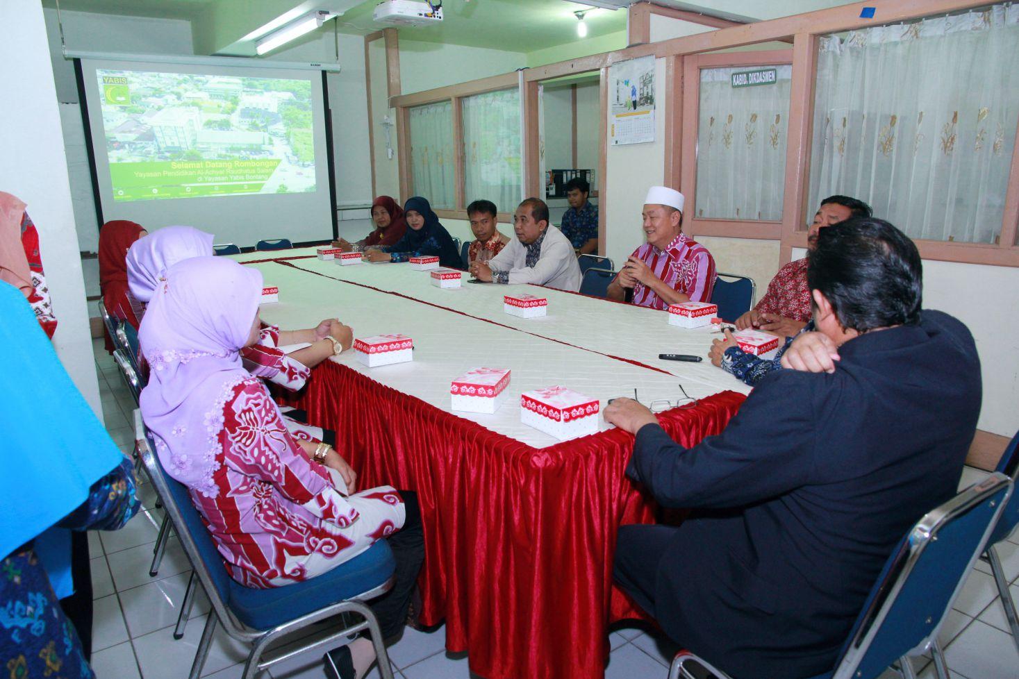Jalin Silaturahmi, Yayasan Pendidikan Al-Achyar Raudhatus Tukar Ilmu Terkait Pendidikan